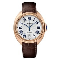 Cartier Cle de Cartier 40mm Rose Gold on Leather