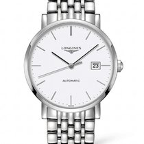 Longines Elegant Collection Stainless Steel White Dial R