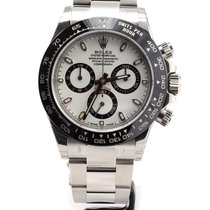Rolex Cosmograph Daytona ceramic bezel white NEW MODEL