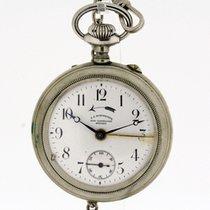 J. C Schweizer Hofuhrmacher Munchen Pocket Watch ALARM Wecker...