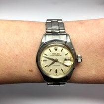 Rolex Oyster Perpetual Ladydate Stainless Steel Ladies Watch...