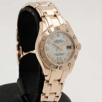 Rolex Pearlmaster pink gold MOP dial , Diamonds  - like new ,...