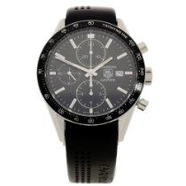 TAG Heuer Carrera CV201E-0 - Black Chronograph Dial - 2010