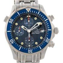 Omega Seamaster Chronograph Titanium Automatic Mens Watch...