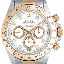 Rolex Men's Diamond Rolex Daytona Steel & Gold 2-Tone...