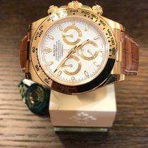 Rolex Cosmograph Daytona Yellowgold White Dial 116518 NEW