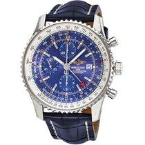Breitling Navimeter Word Automatic Chronograph Men's Watch...