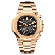 Patek Philippe 5980/1R Nautilus Chronograph 18k Rose Gold