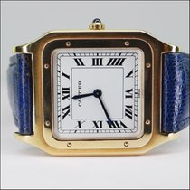 Cartier Santos 18kt Gold Handaufzug