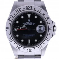 Rolex Explorer Ii 16570 40 Millimeters Black Dial