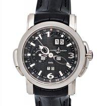 Ulysse Nardin 18K W/G GMT Perpetual Automatic Men's Watch –...