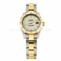 Rolex Lady Datejust 26mm Mother of Pearl Diamond Watch 179313...