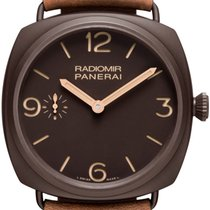 Panerai PAM00504 Radiomir Composite Brown Dial PAM 504 47mm...