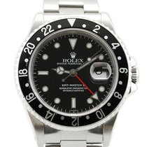 """Rolex GMT-Master II """"Coke"""" Stainless Steel Red/Black..."""