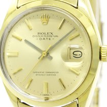 ロレックス (Rolex) Vintage Rolex Oyster Perpetual Date 1500 Gold...