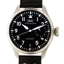 IWC Pilots Stainless Steel Black Automatic IW500912