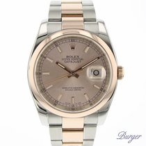 Rolex Datejust 36 Everose Gold/Steel