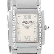 Patek Philippe Twenty-4 Stainless Steel Diamond Ladies Watch 4910