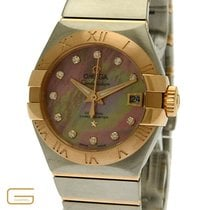 Omega Constellation Co-Axial Stahl/Rosegold Brillanten