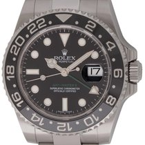 Rolex : GMT-Master II :  116710 :  Stainless Steel : black dial