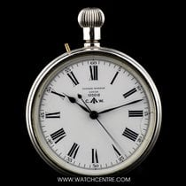 Ulysse Nardin Silver White Enamel Dial British Military Issue...