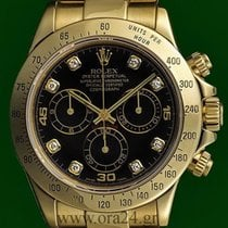Ρολεξ (Rolex) Daytona Cosmograph 116528 Yellow Gold Diamonds...