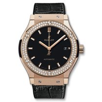 Hublot Classic Fusion King Gold Diamonds 45 mm