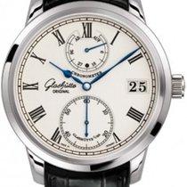 Glashütte Original Senator Silver Dial Men's Hand Wind Watch