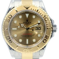 Rolex Yacht-Master 40 16623-GLD Champagne White Dial Yellow...