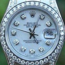 Rolex Ladies Steel 26mm Datejust 179160 Diamonds Bezel Lugs...