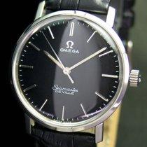 Omega Seamaster DeVille Black Winding Steel Unisex  Watch 135.010