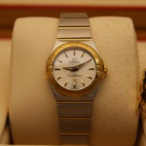 Omega 123.20.24.60.02.002   Constellation Silver Dial