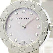 Bulgari Polished  - Diamond Mop Dial Ladies Watch Bb23ss...
