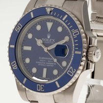 Rolex Oyster Perpetual Date Submariner Weißgold Ref. 116619LB