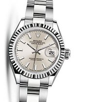 Rolex Lady-Datejust Silver Dial Automatic Ladies Oyster Watch