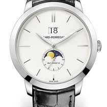 Girard Perregaux 1966 LARGE DATE AND MOON PHASES White Gold...