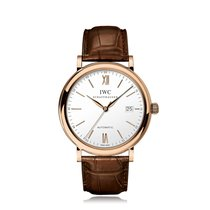 IWC Schaffhausen Portofino Automatic Rose Gold Mens Watch...