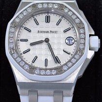 Audemars Piguet Royal Oak Offshore Diamond Bezel 37mm B&p...