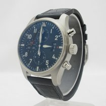 IWC IW377701 Pilot's Watch Chronograph Steel 43mm
