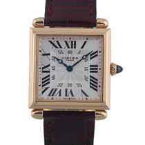 Cartier Yellow Gold Tank Solo  Obus