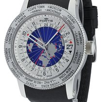 Fortis .. Aviatis B-47 Automatic World Timer GMT NEW FULL SET