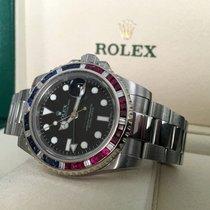 Rolex Oyster GMT Master II Saru Bezel Steel 40 mm (2010)