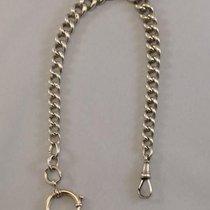 Antique Sterling silver watch chain - England - around 1920 -...