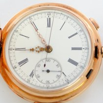 Tempora Swiss Quarter Repeating Chronograph, Solid 14K Pink Gold