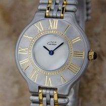 Cartier 21 Must De Cartier21 Lady Stainless Steel Quartz Dress...