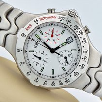 Ebel Sportwave Chronograph Stainless Steel White Dial Swiss...