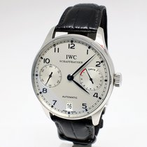 IWC Portuguese Automatic 7 Days White/Blue face, Serviced 2017