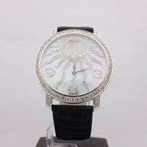 Chopard Happy Sun 18kt White Gold Diamonds MOP 40MM