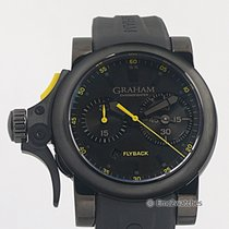 Graham Chronofighter Trigger Flyback PVD ~NEW~  68% OFF