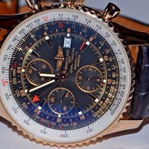 Breitling Navitimer World GMT 18K Solid Rose Gold